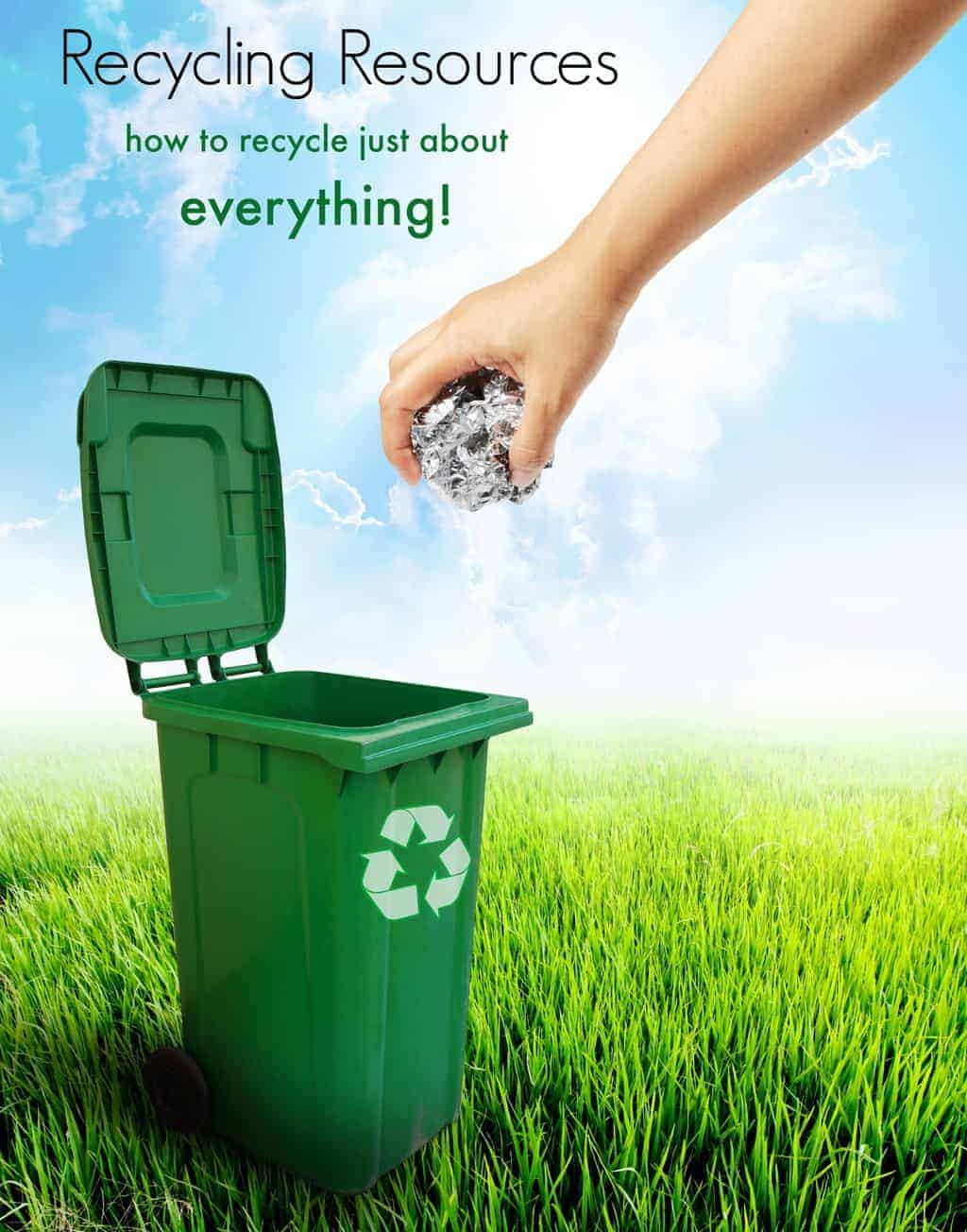 Declutter the house, but don't let your unwanted items end up in landfills.Check out these recyclingresourcesto help you reduce your carbon footprint.