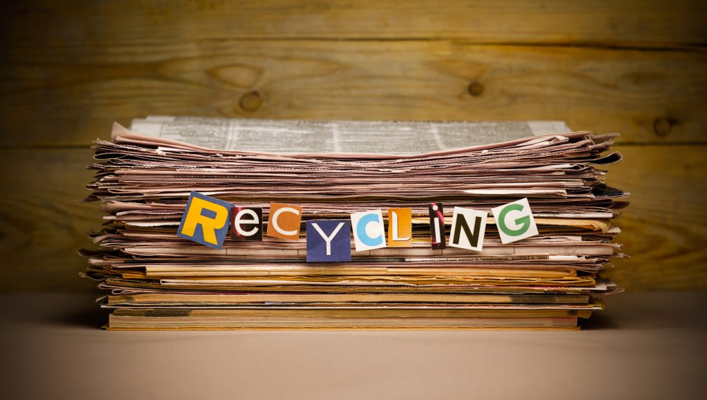 Declutter the house, but don't let your unwanted items end up in landfills.  Check out these recycling resources to help you reduce your carbon footprint.