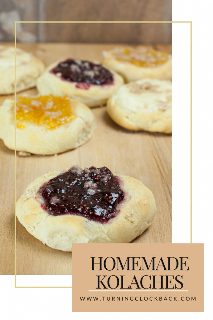 Homemade kolaches recipe for a sweet or savory bread