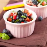 Blueberry Salsa Recipe for Healthier Snacking!