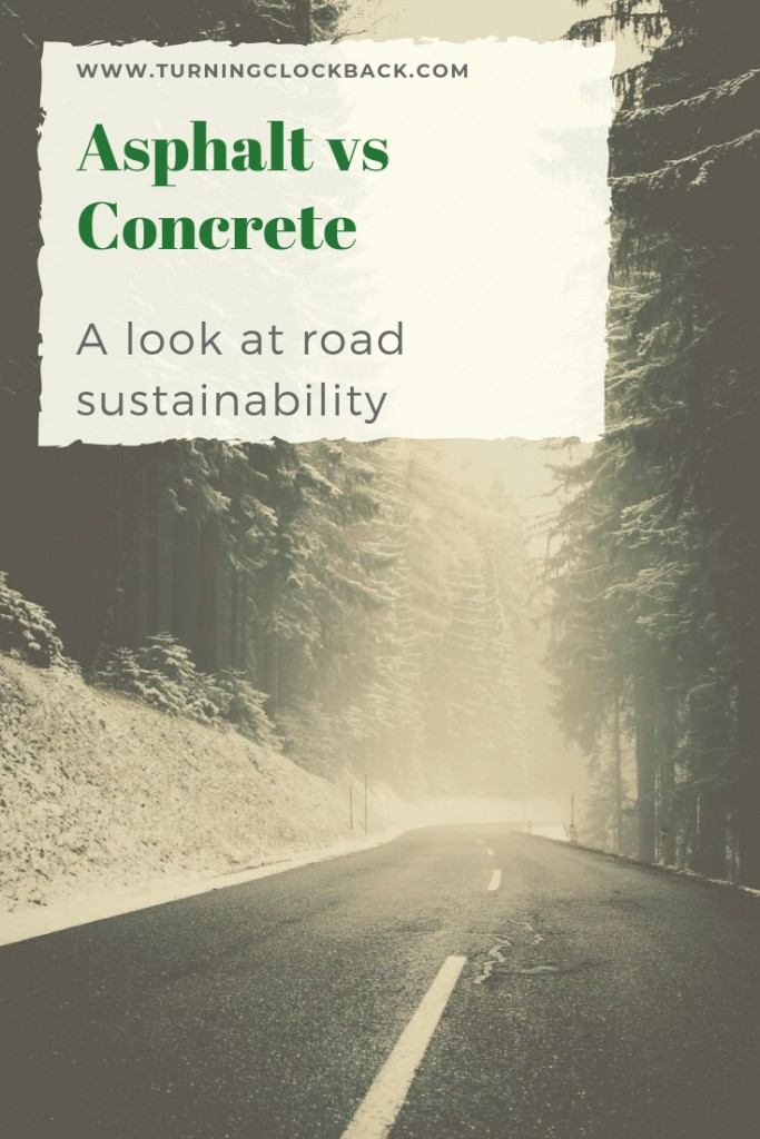 Asphalt vs Concrete and a look at road sustainability
