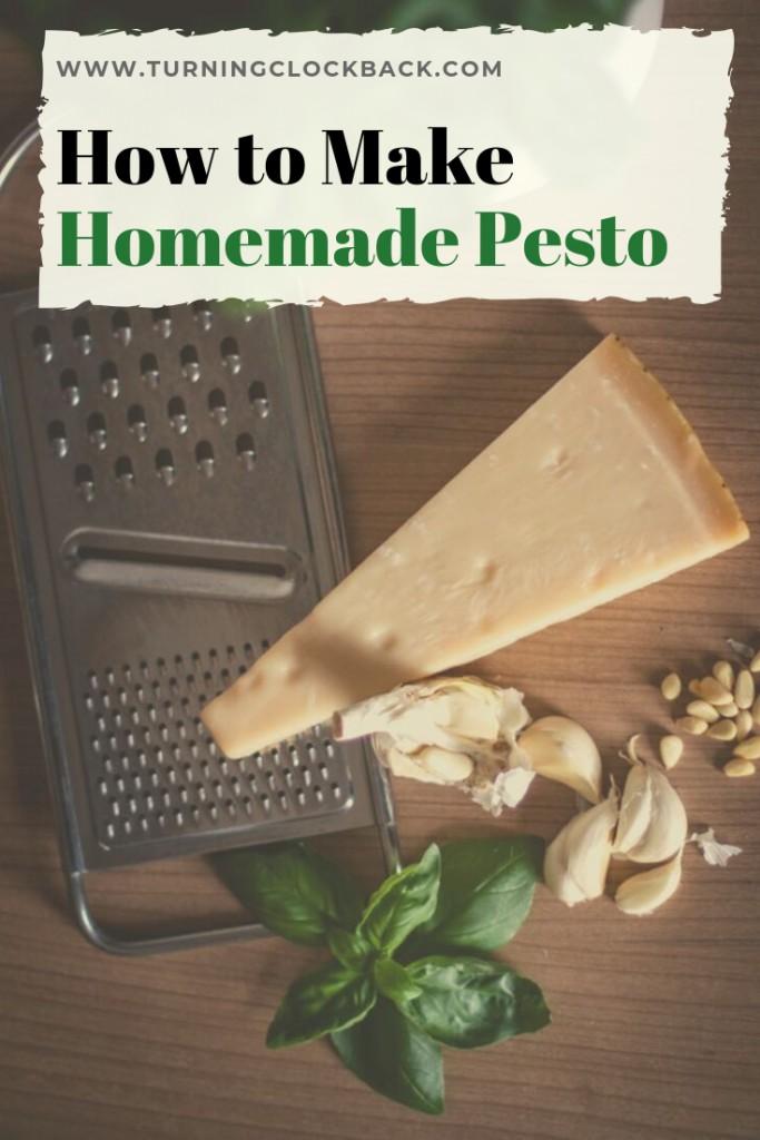 Pesto Ingredients and Tips on making homemade pesto