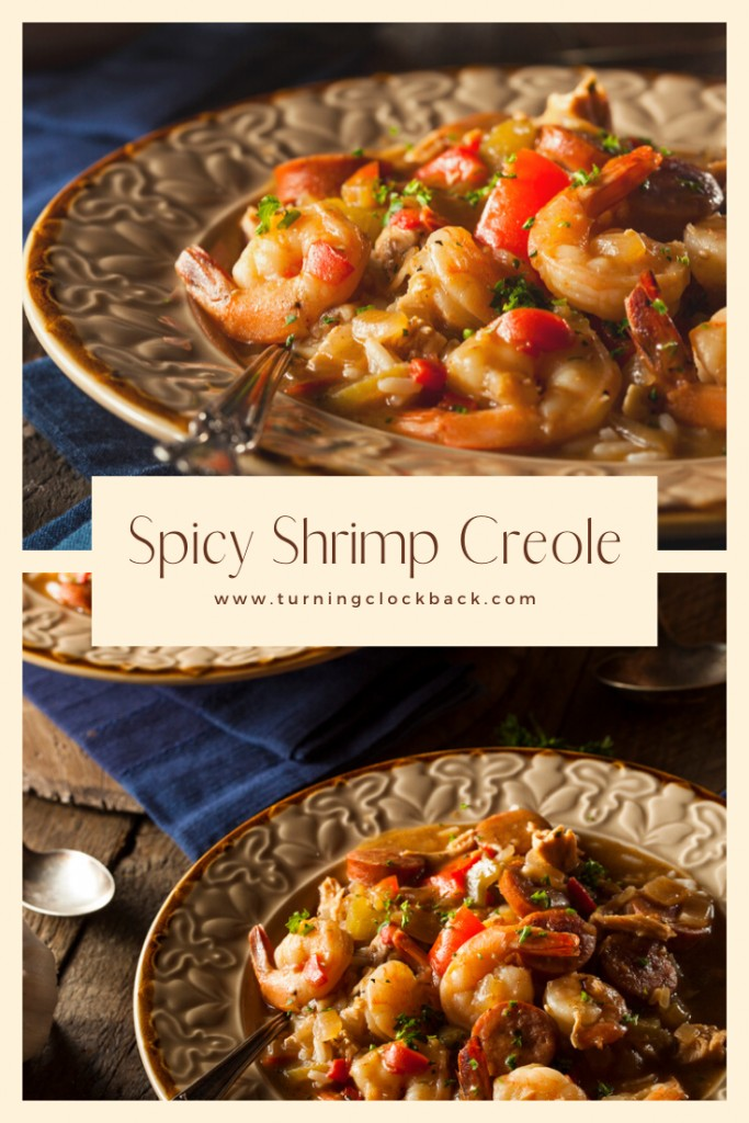 Spicy Shrimp Creole Recipe