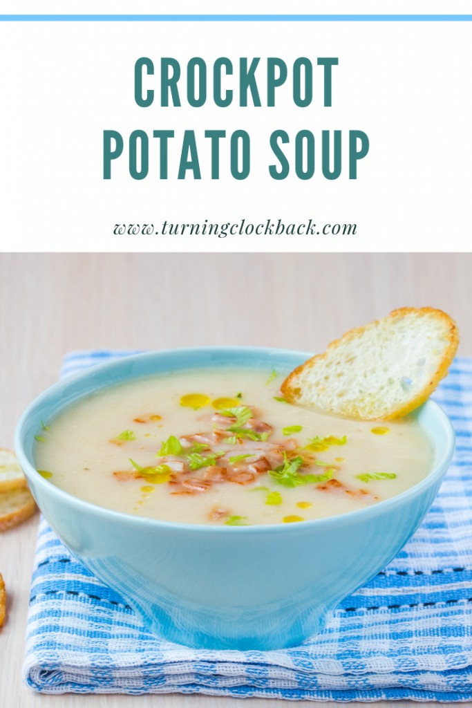 Easy and Creamy Crockpot Potato Soup Recipe