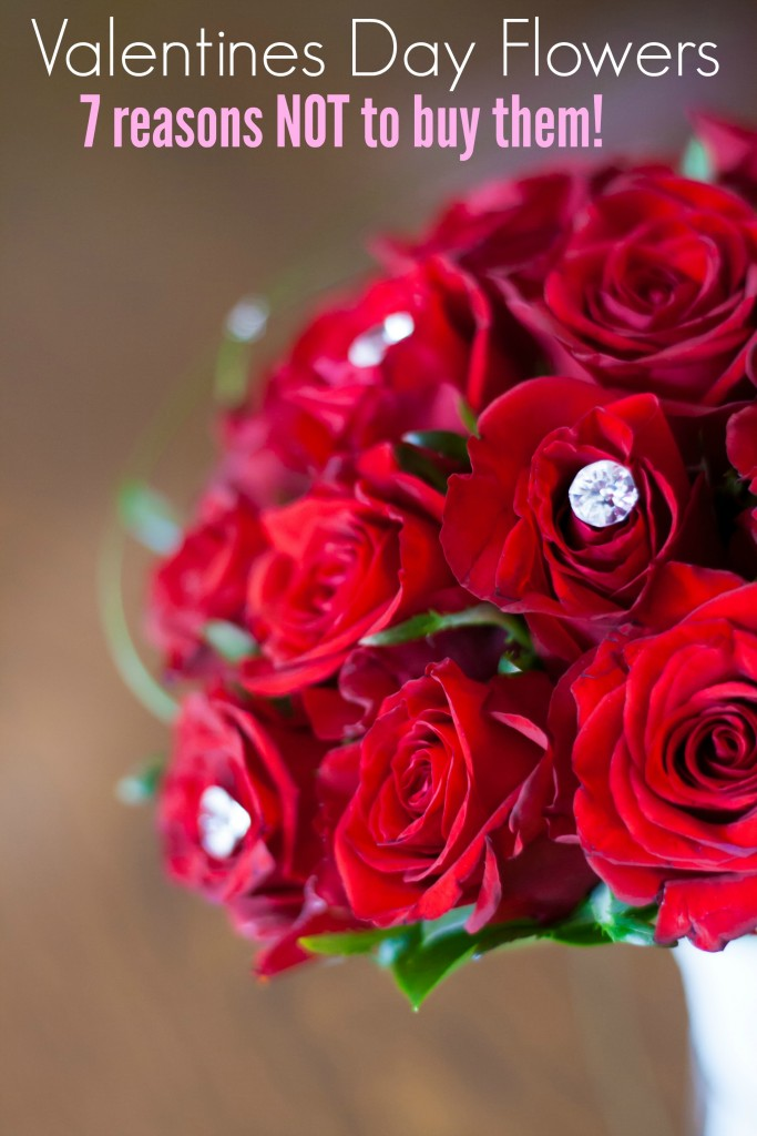 7 Reasons Not to Buy Valentines Day flower arrangements!