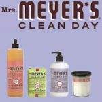 Spring Cleaning with Mrs. Meyers Clean day products