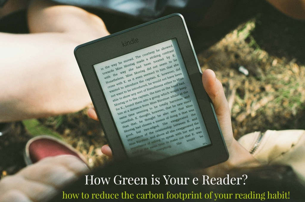 How green is your e reader