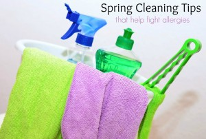 Spring Cleaning Tips for Surviving Spring Allergies