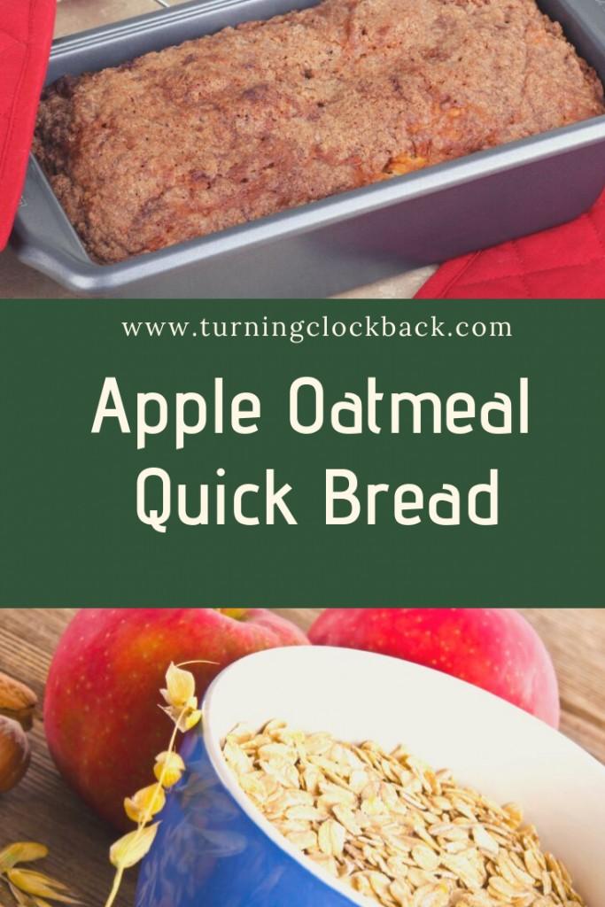 Apple Oatmeal Quick Bread Recipe