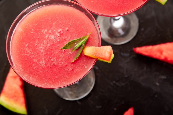 Refreshing Watermelon Margaritas