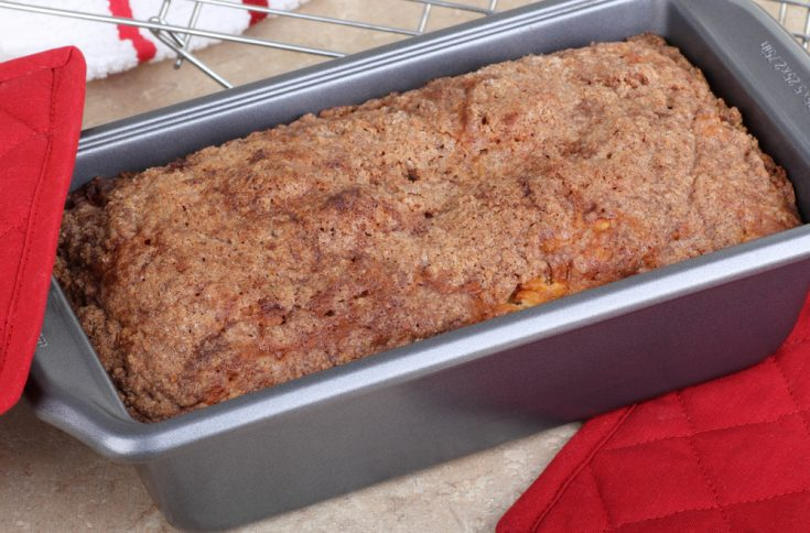 Apple Oatmeal Quick Bread