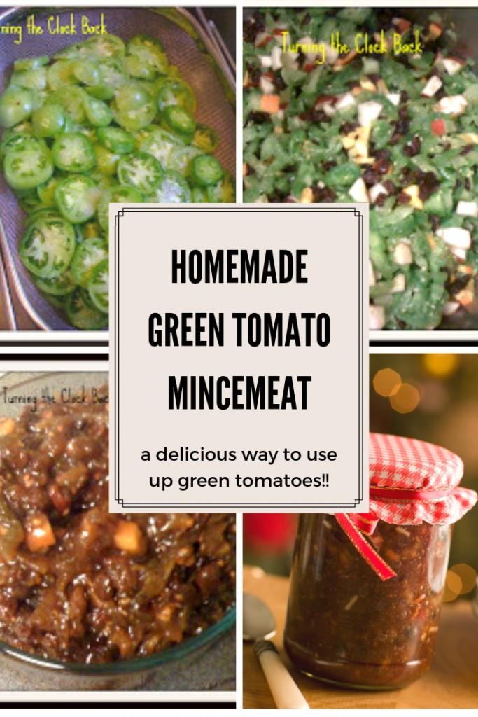 Homemade Green Tomato Mincemeat