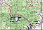 Destination: Raven Cliff Falls in White County Georgia