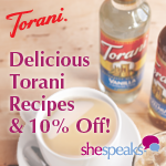 Torani Flavored Syrups #Giveaway and Discount Code: Enter to #win 2 free product coupons (2 winners) #SSTorani