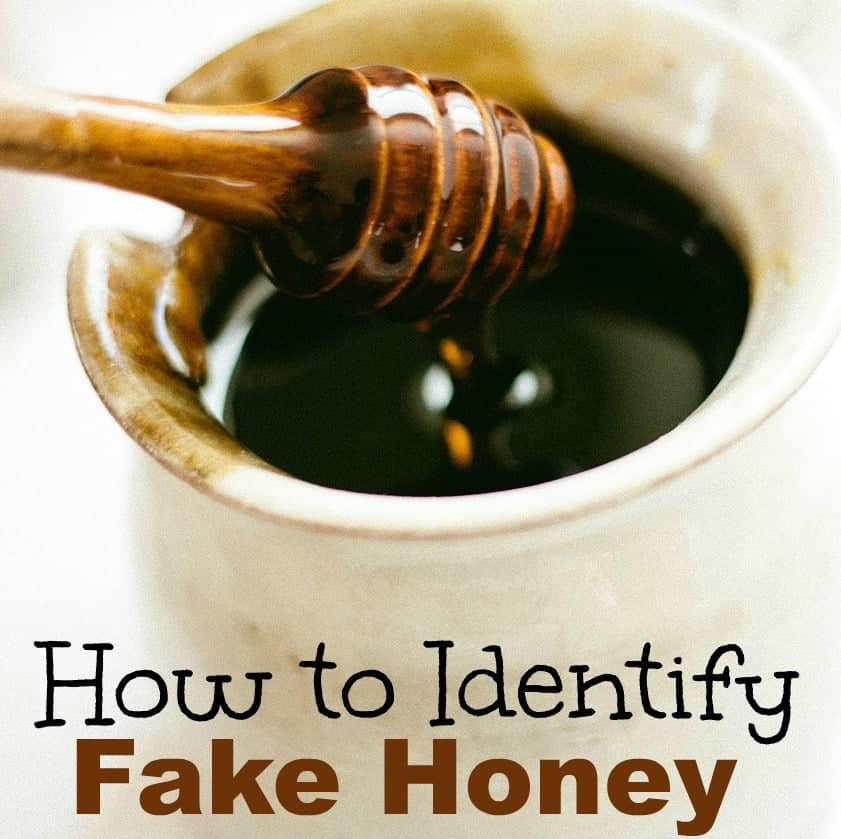 Have you heard about fake honey Did you know that there was a scandal not too long ago about fake honey being sold in stores Do you think you can identify fake honey if you saw it
