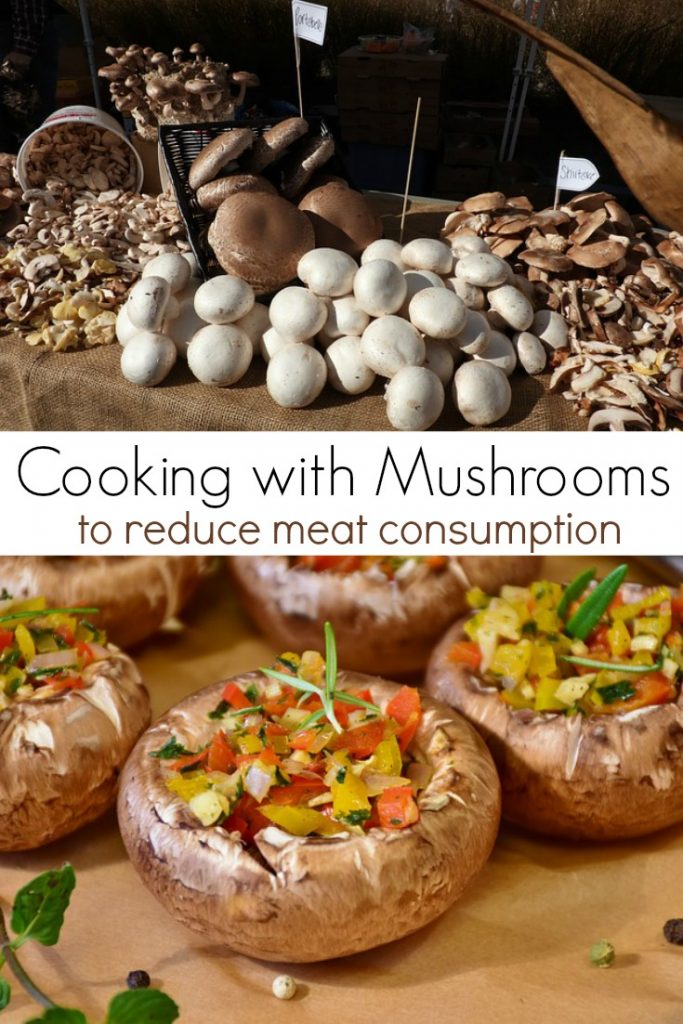 Want to serve a healthier meal? Consider cooking mushrooms! Mushrooms are a great way to join the Meatless Monday food movement and cut back on the amount of meat you eat in one sitting.