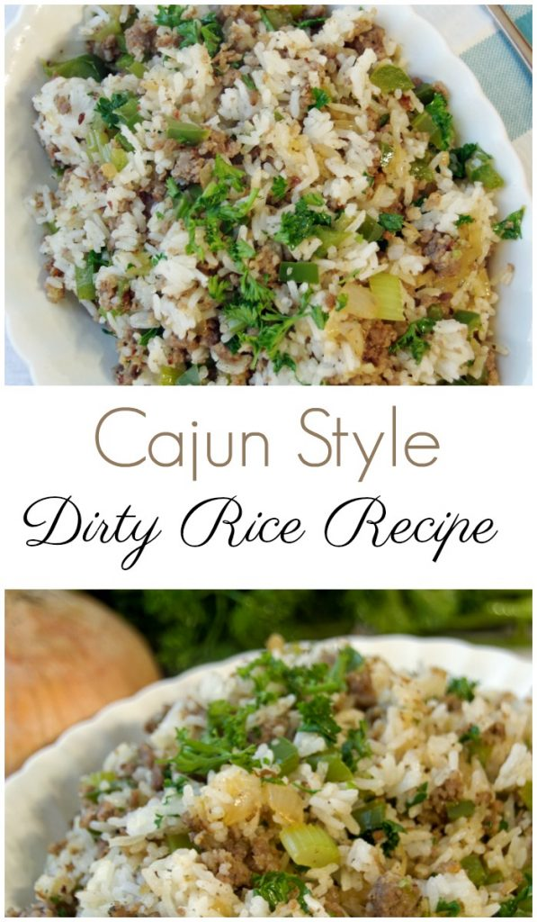 Cajun Style Dirty Rice Recipes