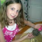 Earth-Friendly Kid's Craft: Coffee Ground Fossils #SCJGreenerChoices