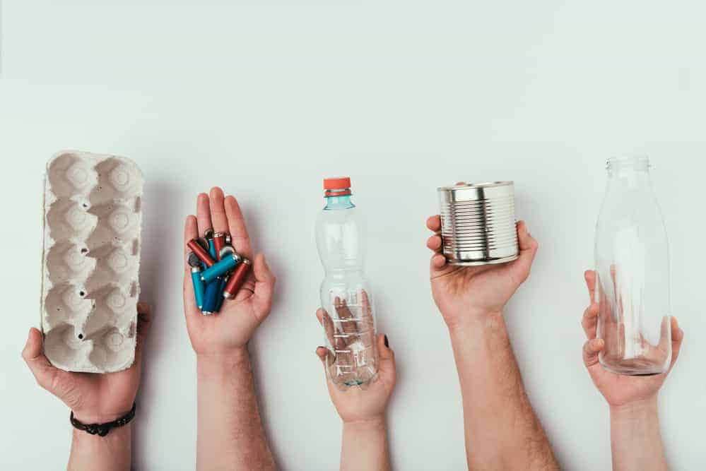 Household recycling and reducing trash output