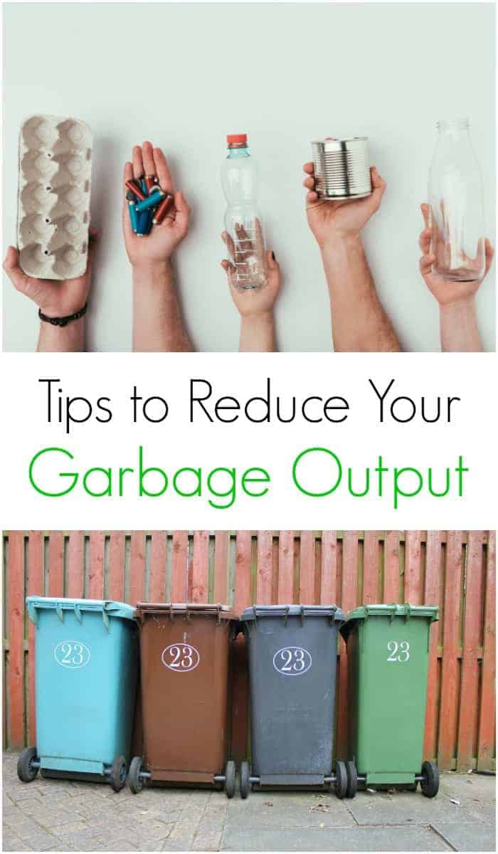 Easy ways to reduce your garbage output so that the rubbish bin isn't overflowing at the end of the week. Green living tips for a rubbish free year as well.
