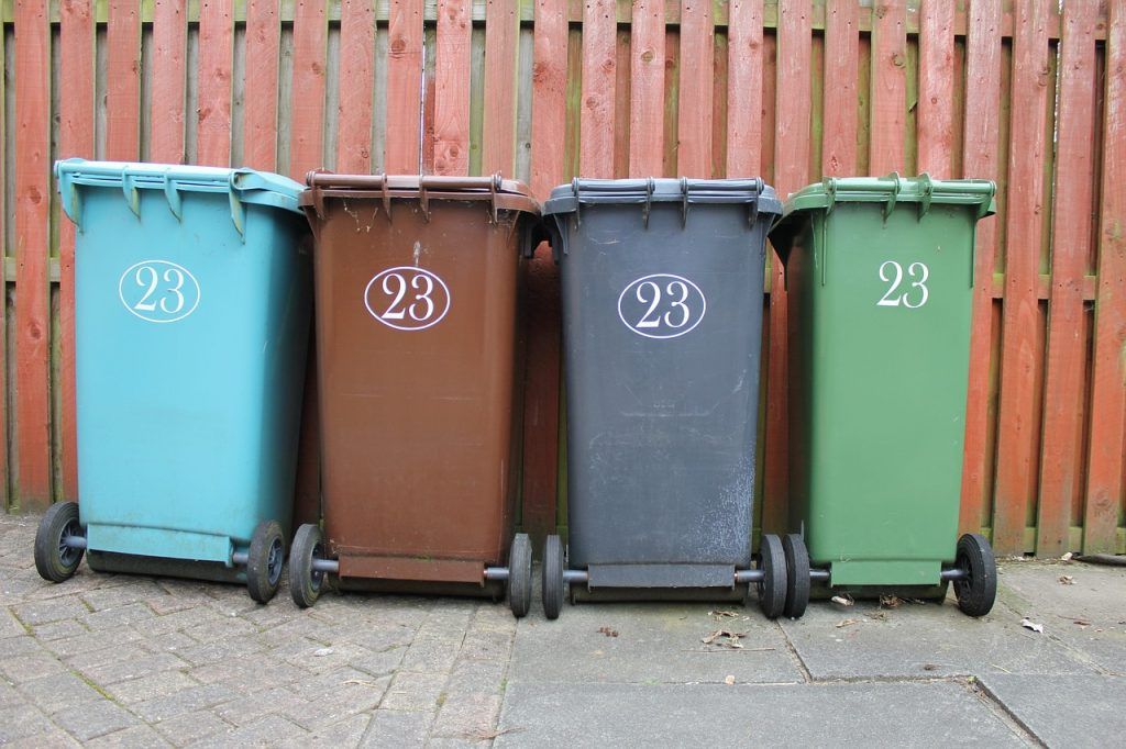 Trash Cans and Reducing Garbage Output