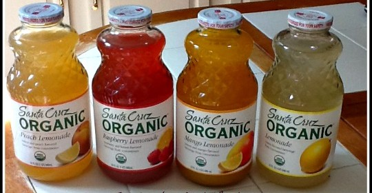 Enter to #win organic Santa Cuz Lemonade and help feed America! (3 winners!)