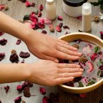 spa for hands and healthy nails