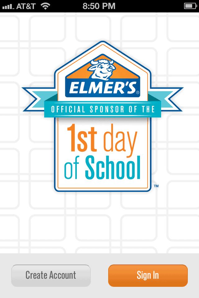elmer's first day app