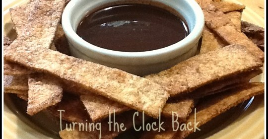 Churro Style Tortillas with Mexican Chocolate Dipping Sauce (#Recipe)