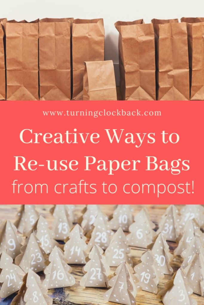 Creative Ways to Reuse Paper Grocery Bags