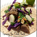 Asian Fusion #Recipe:  Top Your Own Thai Burrito
