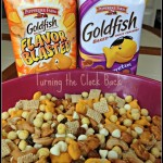 Goldfish trail mix keeps your teen fueled up! #Cbias