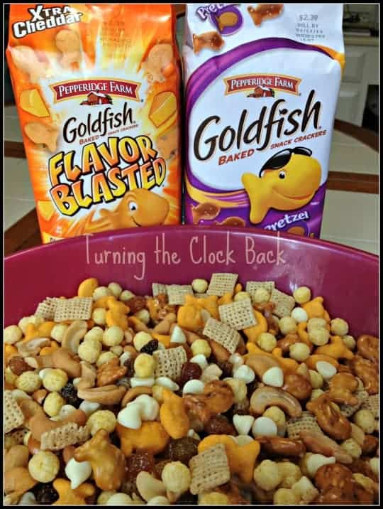 goldfish trail mix