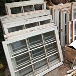 Creative Ways to Reuse Old Windows  #SJCgreenerchoices