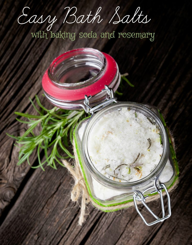 Baking Soda Bath Salts Recipe