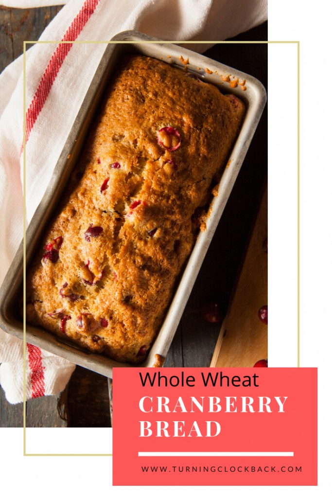 Whole Wheat Cranberry Bread Recipe