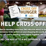 Unilever Helps Cross Off Hunger!  #BetterTogether