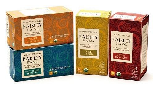 paisley organic tea image