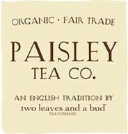 paisley organic tea logo