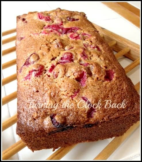 whole wheat cranberry bread