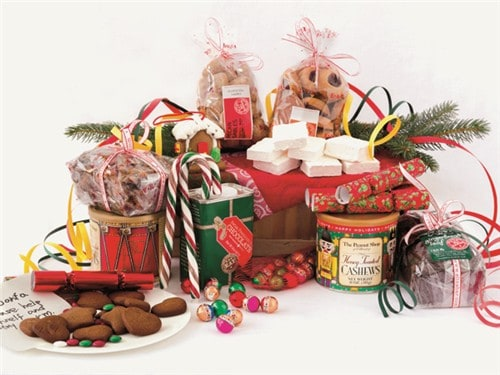 organic gift baskets for christmas