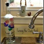 Seven Creative Ways to Reuse Glass Bottles #SCJgreenerchoices