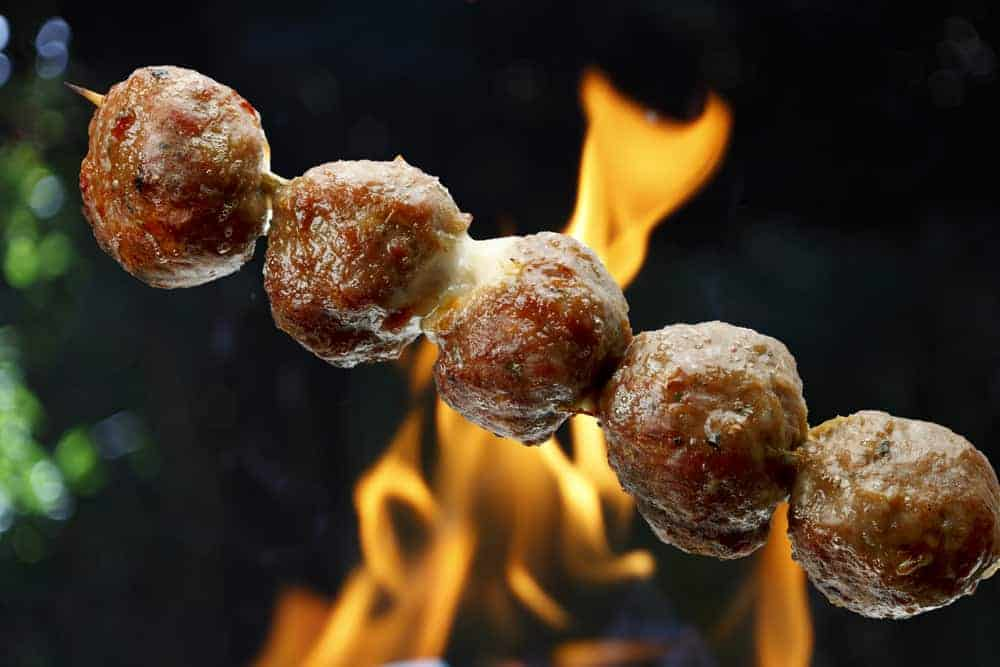 How to Grill Meatballs