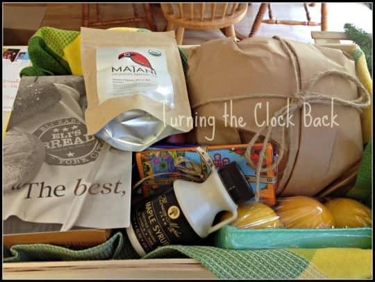 organic gift baskets