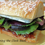Figgy Blue Sandwich vegetarian recipe