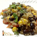 Meatless Monday Recipe: Mexican Quinoa and Black Beans #SCJgreenerchoices
