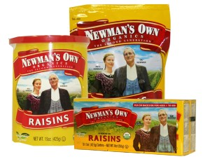 newmans own raisins