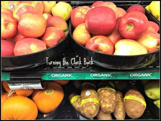organic food for green living