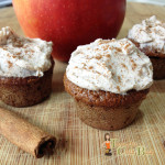 Muffin Recipes: Frosted Apple Spice Mini Muffins