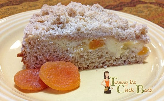 Apricot Cream Cheese Coffee Cake